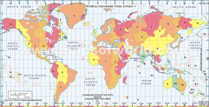 World Time Zone Map | www.mapsofworld.com/time-zone-map/worl ...