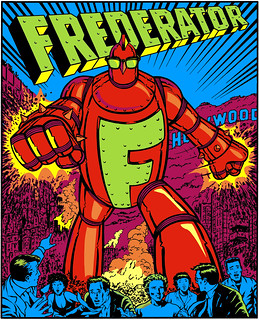 Frederator Fredbot sign [poster size] | by Fred Seibert