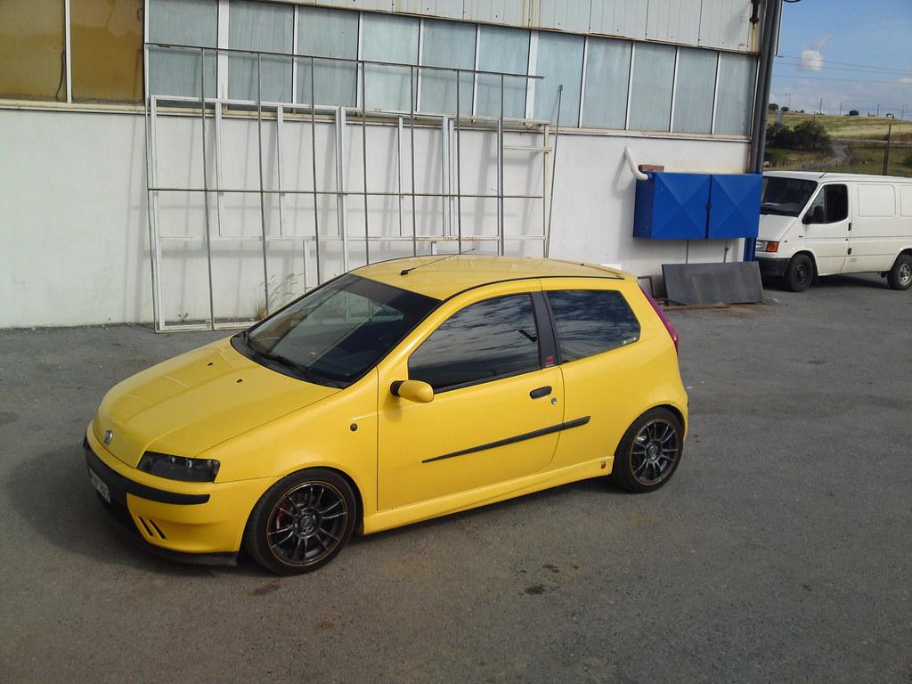 Fiat Punto Hgt V By Chrissennapap