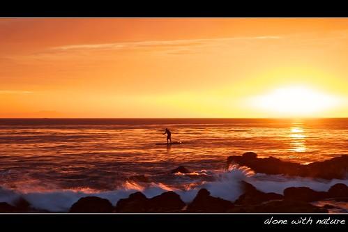 ocean california sunset orange seascape reflection nature silhouette golden wave atmosphere orangecounty tone lagunabeach ef24105mmf4lisusm