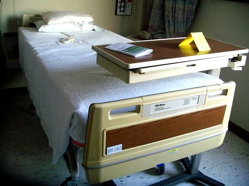 hospital bed | by Jo Naylor