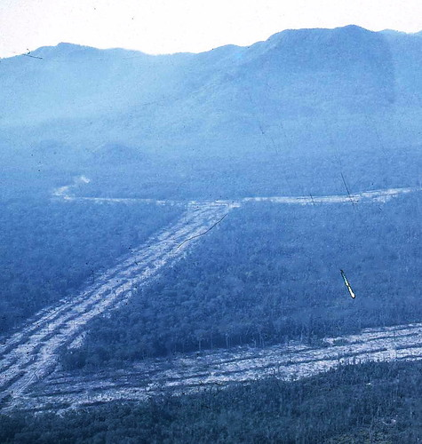 877-Land Clearing In Phuoc Tuy Province (1968 Or 69)