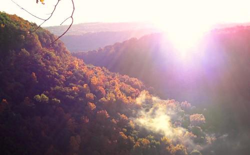 autumn color fog sunrise letchworth goldenratio top20autumn