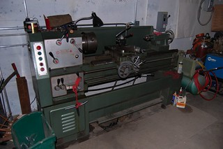 Big Metal Lathe