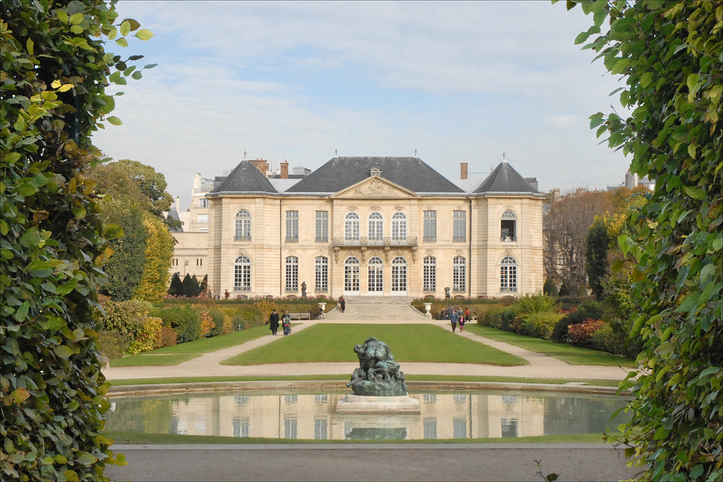 Le Parc Et L U0026 39 H U00f4tel Biron  Mus U00e9e Rodin  Paris