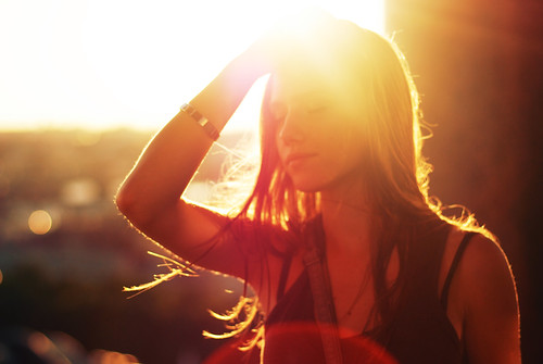 sunset hairs vital belozyorova