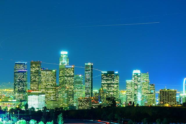 Air traffic of Los Angeles