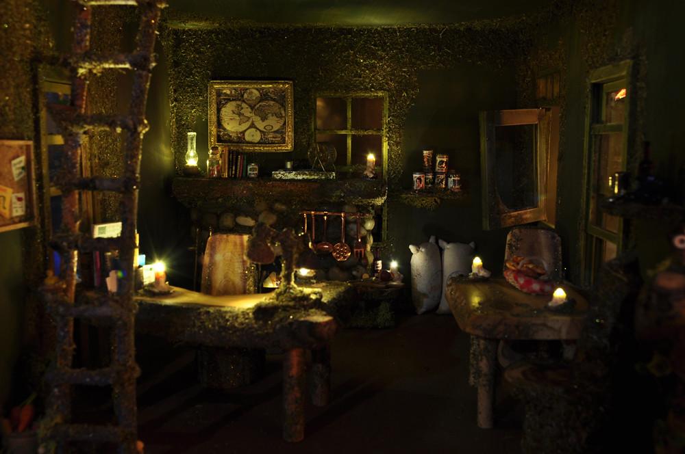 Fairy House Living Room This Artisan Fairy House Is