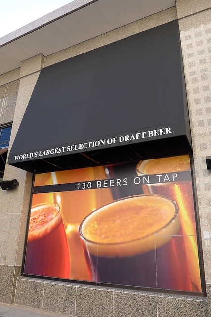 There you have it, 130 beers on tap!
