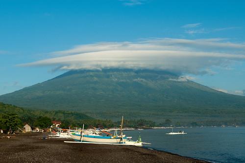 Bali Beach House - Mt. Agung   by Jesse Wagstaff