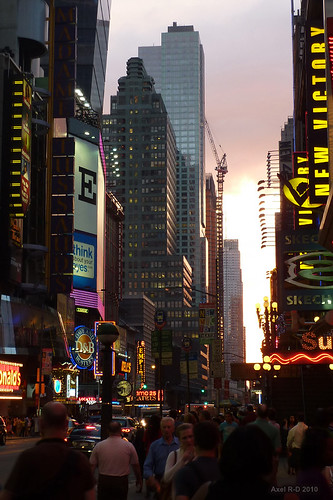Times Square | by -AX-