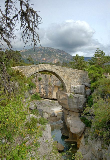 Pont de Sautet - Jabron - Trigance (Var)