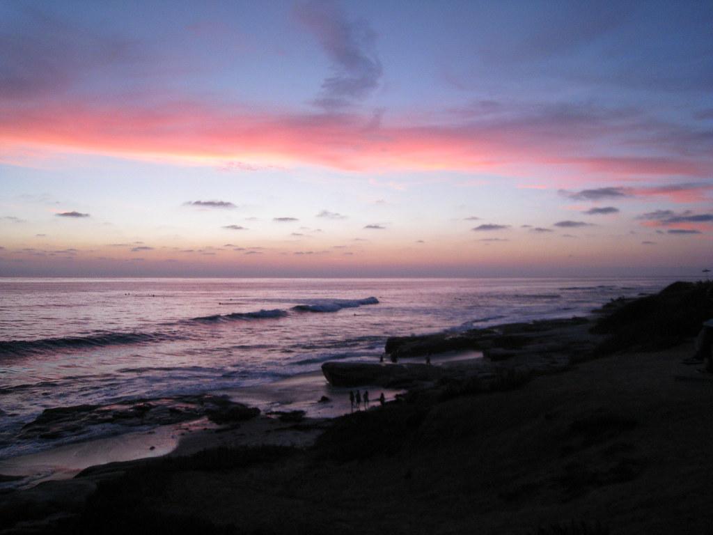 Wind and sea Windansea Beach