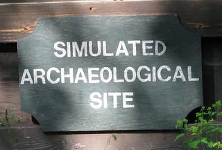Simulated archeology