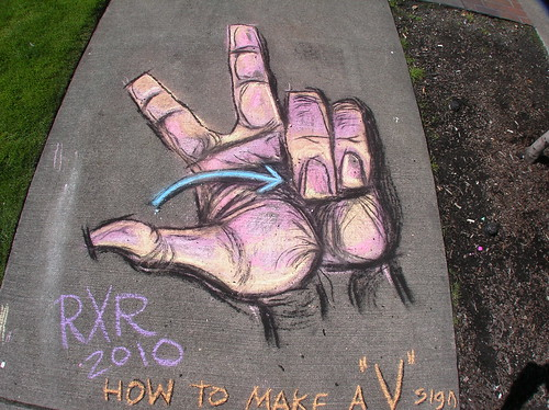 "RR's How To Make a ""V"" Sign | by NineInchNachosVIII"