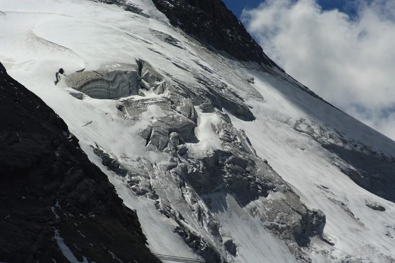 le glacier de la Grande Motte