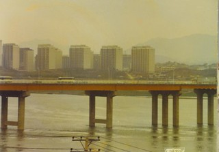 Seoul highway bridge