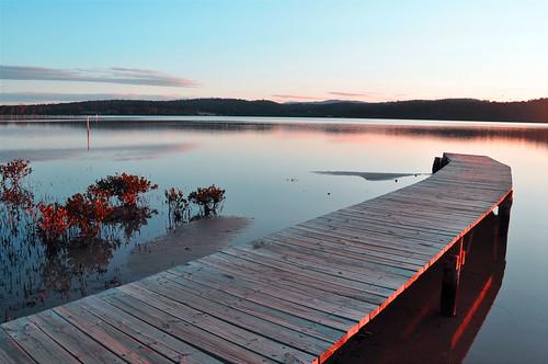 lighting sunset lake pier mood peaceful nsw serene merimbula shimmer mygearandmepremium mygearandmebronze mygearandmesilver mygearandmegold mygearandmeplatinum mygearandmediamond