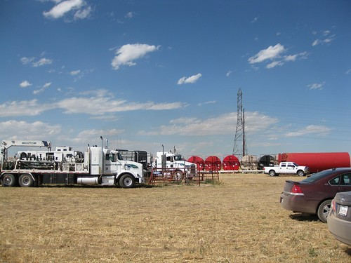 Fracking site close to Platteville, Colorado | by SenatorMarkUdall