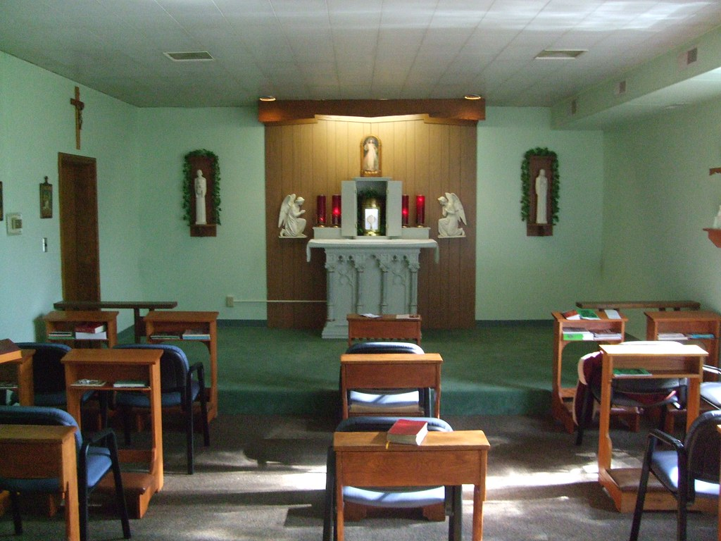 Immaculate Heart of Mary Catholic Church, Adoration Chapel, Galesburg, IL