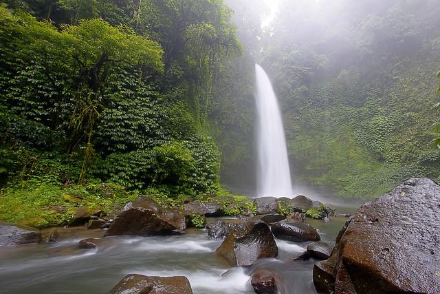 Nung Nung Waterfall, Bali, Indonesia