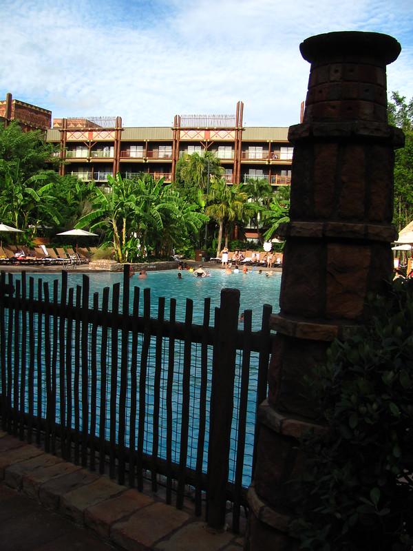 Uzima Pool at Jambo House at Animal Kingdom Lodge