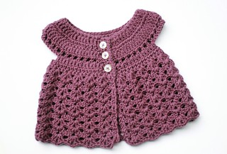 Crochet Baby Dress | by Pensive Adagio