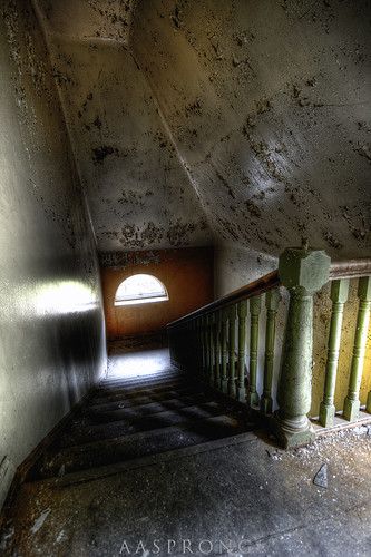 Flight of stairs - L Mental Hospital | by Aasprong Photography