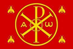 Modern Banner of the Merovingians