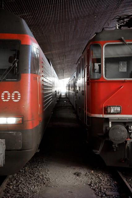 Locomotives at Hauptbahnhof