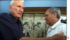 JOE GARCIA 2010: His friend Alfredo Duran with Castro's VP