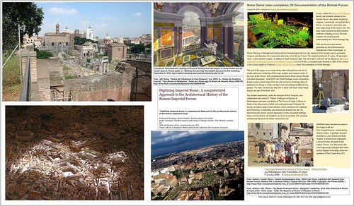 """Prof. James Packer,""""Digitizing Imperial Rome: A computerized Approach to the Architectural History of the Roman Imperial Forum."""" James Packer, Professor Emeritus Northwestern University (2010)."""