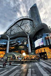 The stunning architecture of Ion Orchard #1. | by Reggie Wan