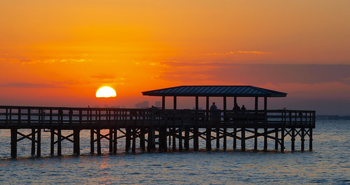 sun water sunrise tampa bay harbor pier florida safety msh0312 msh031216