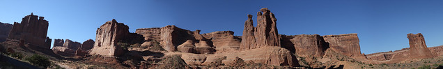 Panorama - Arches National Park, Utah
