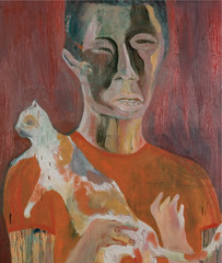 2010. október 12. 14:04 - 2010, olaj fatáblán, 121 x 77 cm