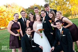 Elizabeth + Mark | CityView Illinois Terminal Wedding, Champaign IL | by Holly Birch Photography (aka hollyhereford)
