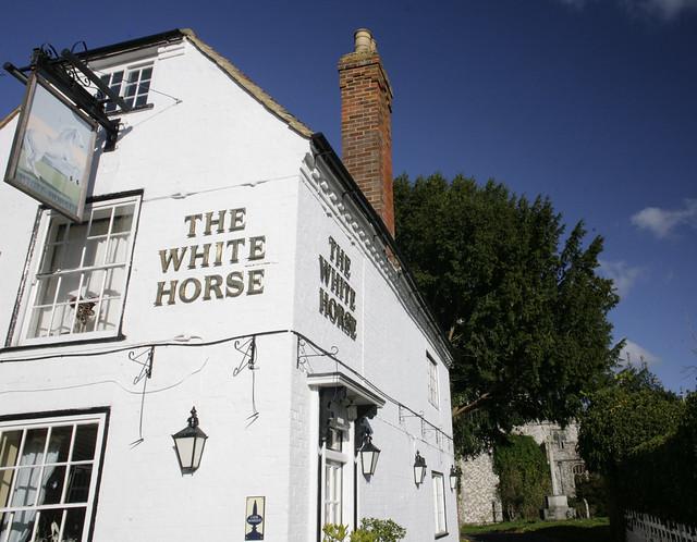 The white horse inn - chilham - kent
