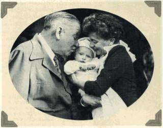 W.C. Fields, grandson & daughter-in-law | by W.C. Fields