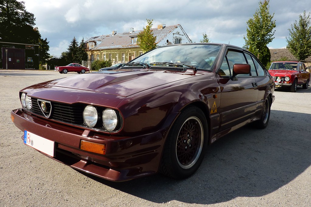Alfa Romeo GTV6 Grand Prix (1985) | The GTV 6 (1983 - 1987 ...