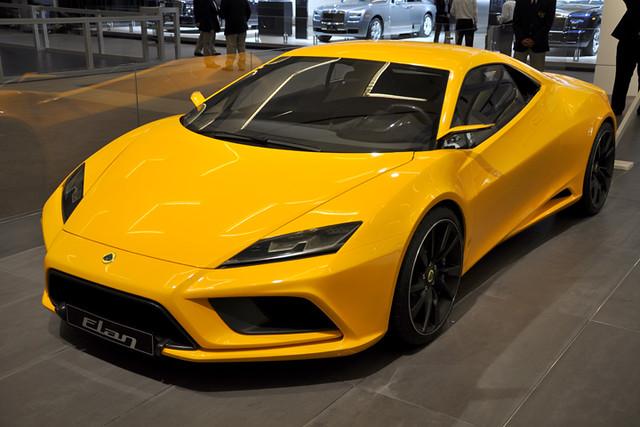 Lotus Elan front