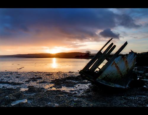 ocean ireland sea brown sunrise island coast boat ship cork explore shipwreck coastline wreck explored carrigtwohill brownisland