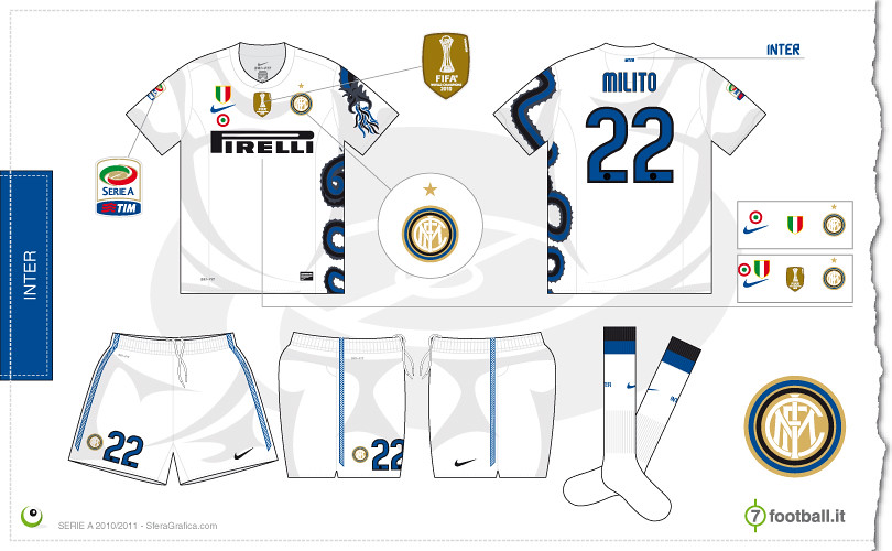 on sale da59c d91d5 Inter away kit 2010/2011 | Flickr - Photo Sharing!