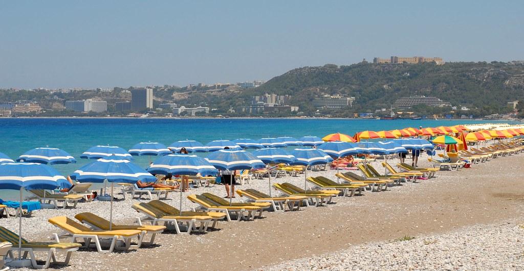 A Beach on Rhodes