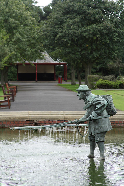 'The Lytham Shrimper', Lowther Gardens, Lytham, Lancashire, UK