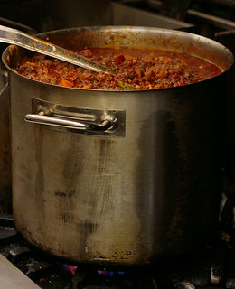 massive pot of chili | by waferboard