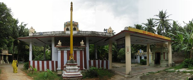 10.Left side view of the temple
