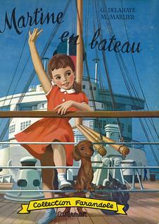 G. Delahaye / Martine en bateau