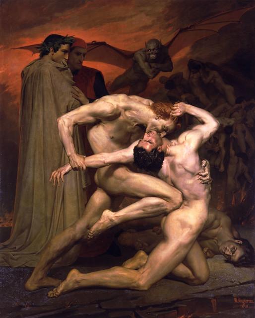 +1850 Dante y Virgilio en los Infiernos