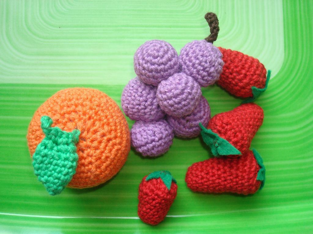 Frutas Amigurumi - Receitas Amigurumis Frutas (Inspiração) - YouTube | 768x1024